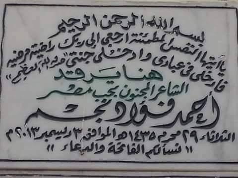 هنا أحمد فؤاد نجم.. يعيش أهل بلدي