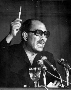 الرئيس محمد أنور السادات