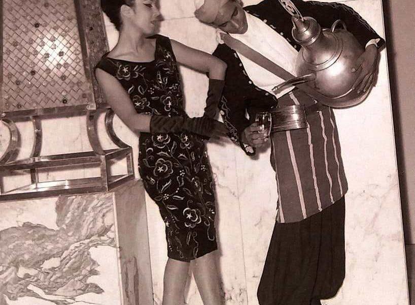 خاص | عرض أزياء لـ رجاء الجداوي وشركة هانو من عام 1962 (صور)