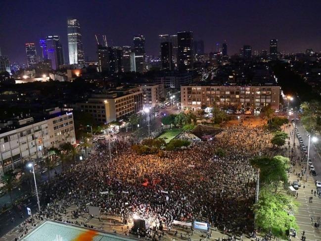 إسرائيل تشتعل| مظاهرة تعارض ضم الضفة الغربية
