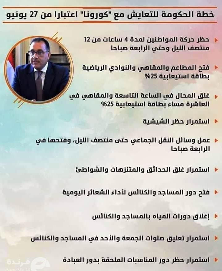 مجلس الوزراء يقرر رفع الحظر