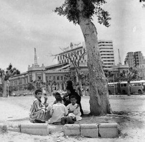 ميدان محطة مصر الإسكندرية عام 1955