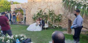 جانب من حفل زفاف شقيقة الفنان محمد رمضان
