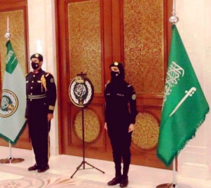 الحرس الملكي السعودي | مغردون تويتر: يا جمالها طلة وهيبة