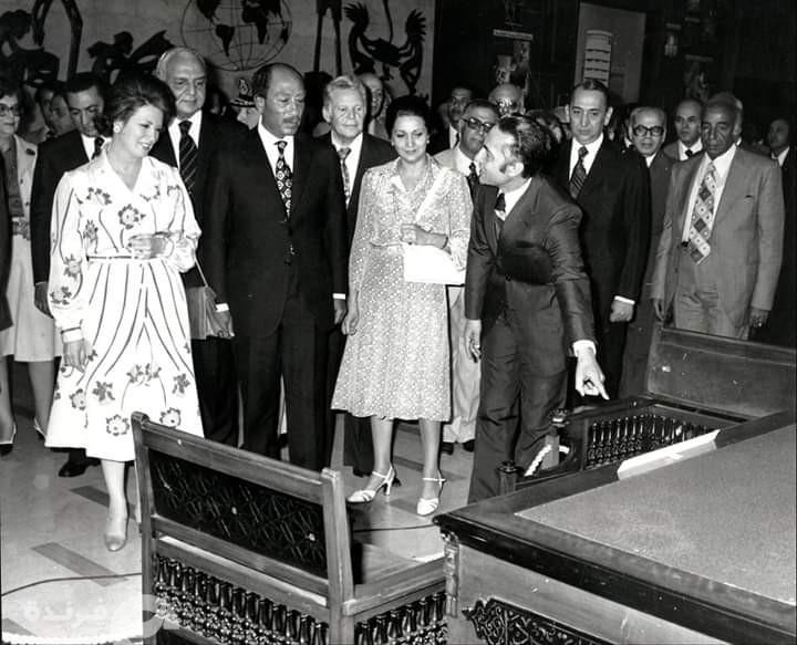 صورة نادرة| احتفالية جريدة الأهرام بمرور 100 سنة على أول عدد