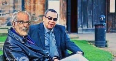د.رفعت إسماعيل والعراب أحمد خالد توفيق