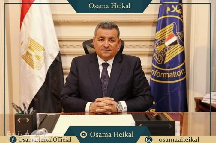وزير الإعلام أسامة هيكل: أتعرض لحملة شديدة وتاريخي يحدد قدراتي