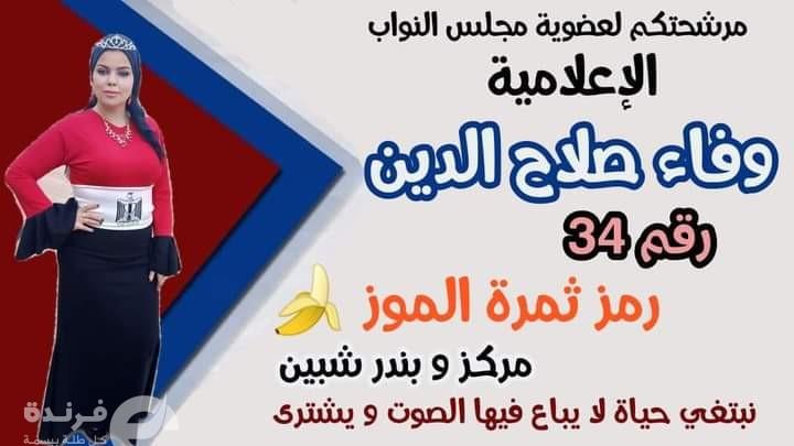 المرشحة وفاء صلاح الدين تهاجم سماسرة الانتخابات