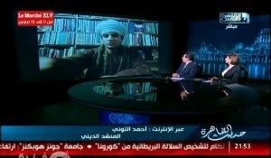 الشيخ أحمد زين التوني يسلطن المستمعين مع خيري رمضان في حديث القاهرة (صور)