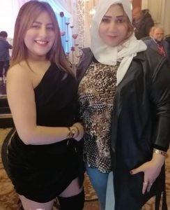 الإعلامية جيهان سالم تشارك في حفل زفاف حفيدة شعبان عبد الرحيم