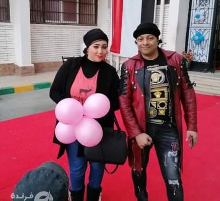 جيهان سالم تشارك في حفل مؤسسة معانا لإنقاذ إنسان