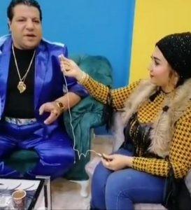 خميس شعبان عبد الرحيم يرتجل أغنية خاصة للأعلامية جي جي سالم   حوار فيديو