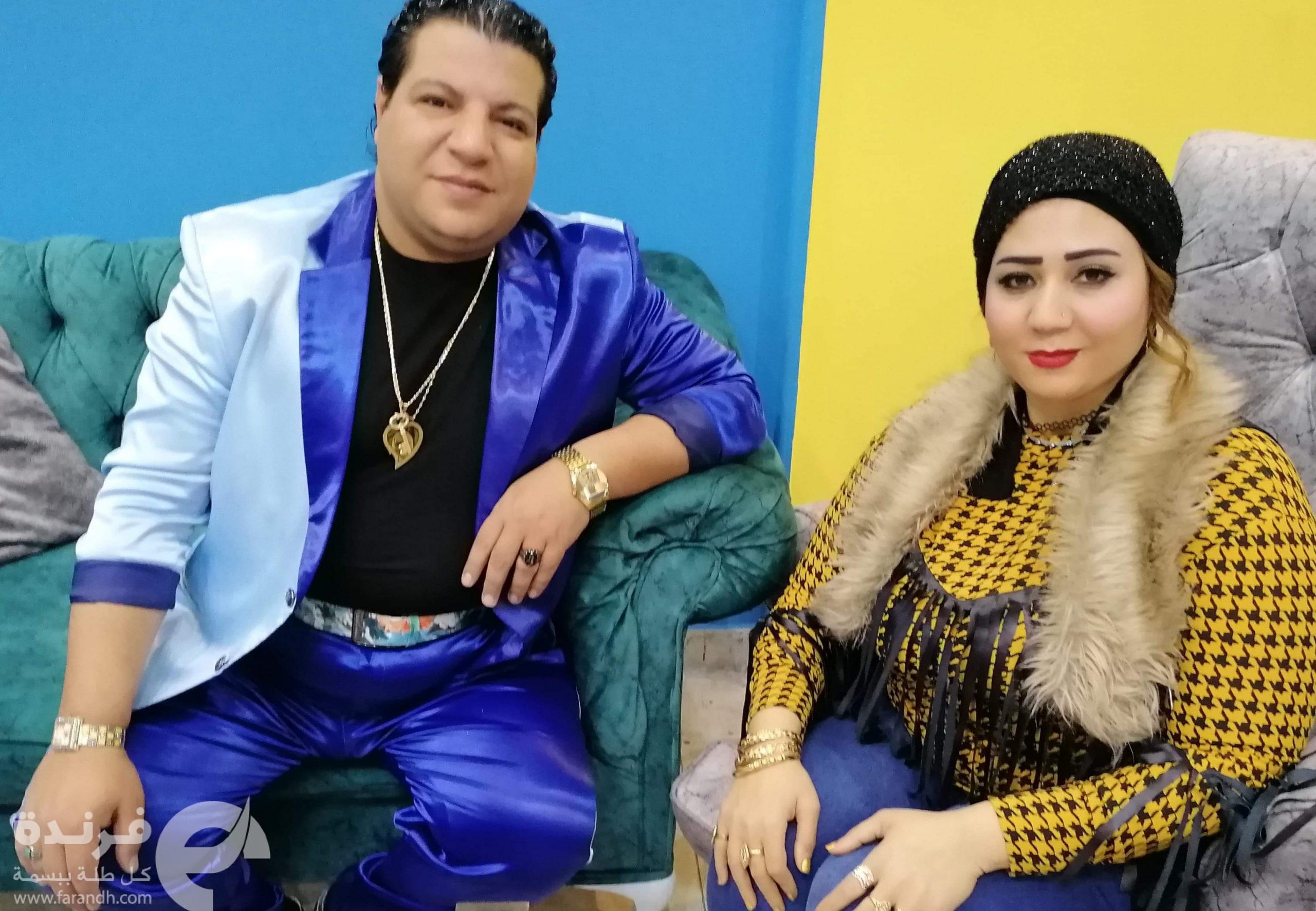 خميس شعبان عبد الرحيم يرتجل أغنية خاصة للأعلامية جيجي سالم | حوار فيديو