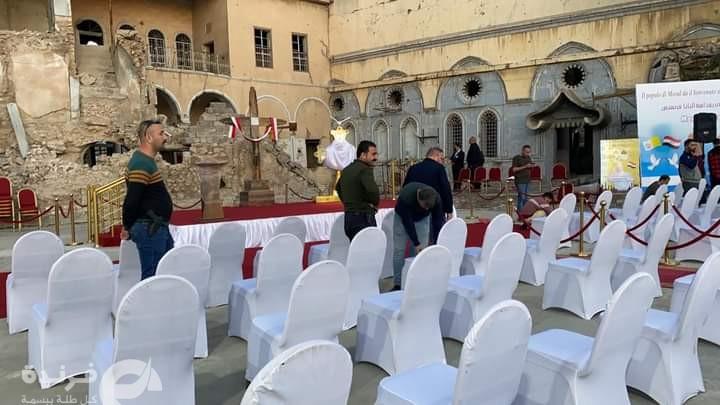 كيف استعدت العراق لزيارة بابا الفاتيكان ؟ (صور)