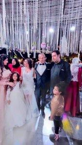 مبروك للعروسين من الإعلامية جي جي سالم وموقع فرندة (بسنت وأحمد)