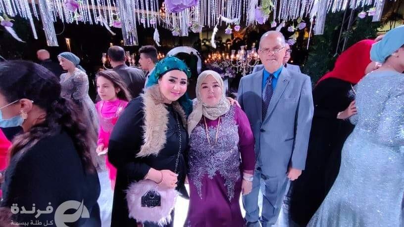 مبروك للعروسين من الإعلامية جي جي سالم وموقع فرندة