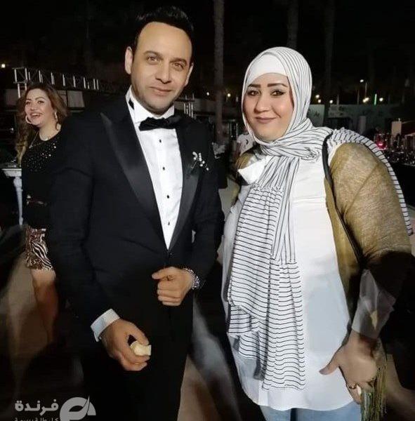 مشاركة الإعلامية جيهان سالم في حفل زفاف نجل مصطفى قمر  صور