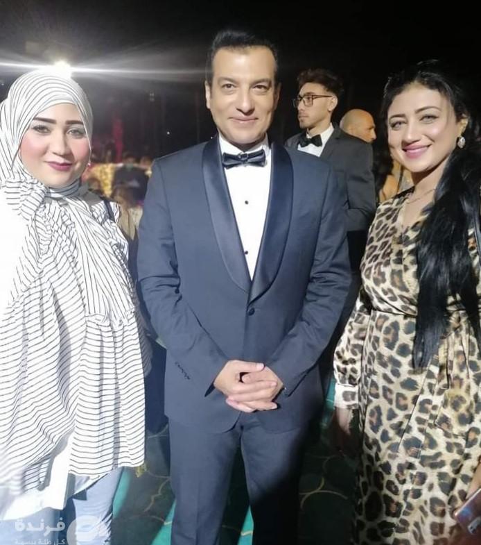إيهاب توفيق في حفل زفاف إياد مصطفى قمر