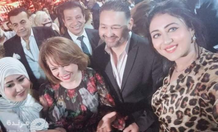 حضور فني في حفل زفاف إياد مصطفى قمر