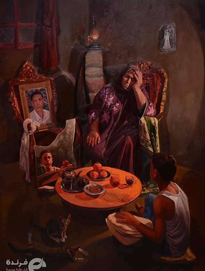 احتياج..مشروع تخرج لـ خالد العجيزي (صور قماش من حياتنا اليومية)