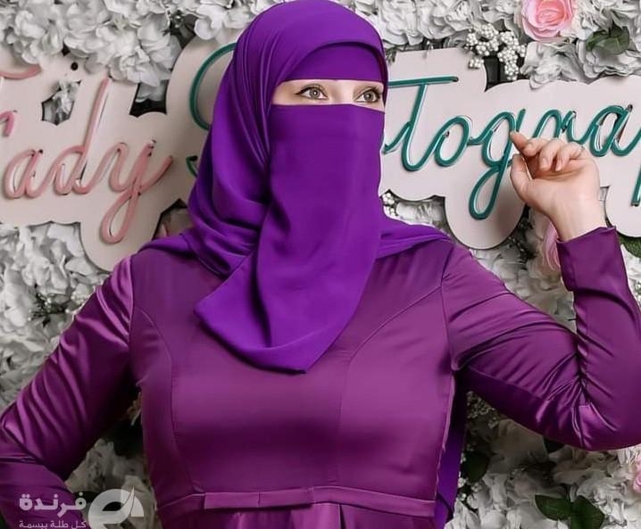 جميلات العرب  موديل فاشون منقبة (عندما يصبح النقاب فتنة )!!
