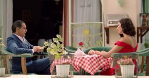 حسين وكاميليا في مسلسل قصر النيل
