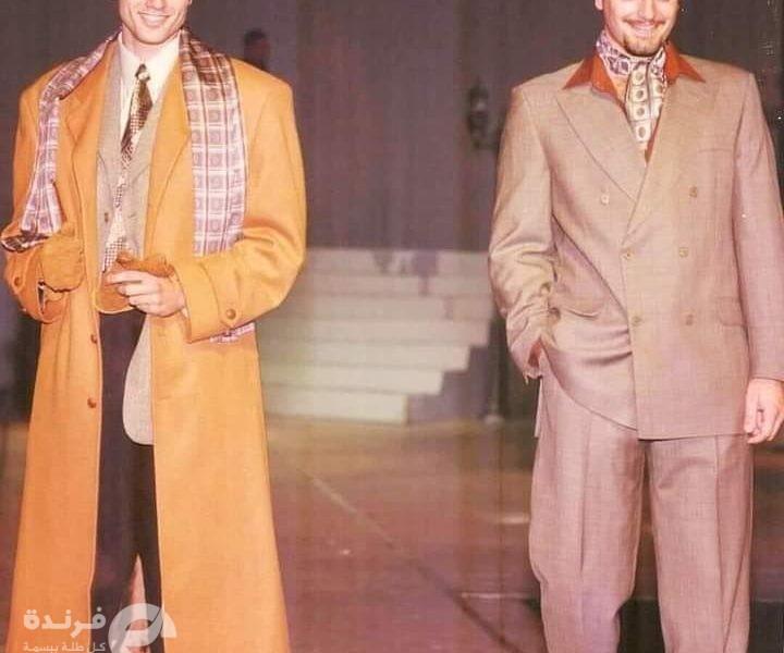 صورة نادرة لـ أحمد عز وتامر هجرس من التسعينات